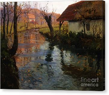 The Mill Stream Canvas Print
