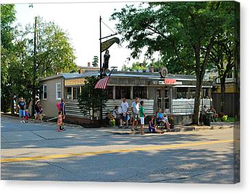 The Millbrook Diner Canvas Print