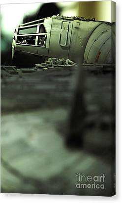 The Millennium Falcon Canvas Print by Micah May