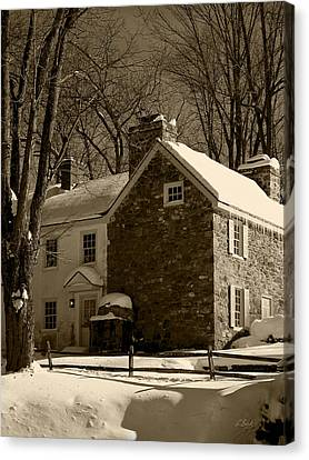 The Miller's House Canvas Print