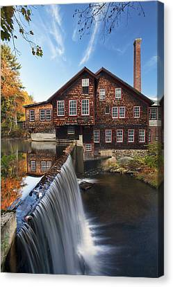 The Mills Canvas Print by Eric Gendron