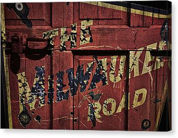 The Milwaukee Road Railroad Canvas Print by Daniel Hagerman