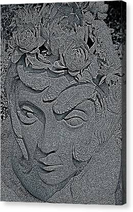The Mind Of Medusa  Canvas Print by Chris Berry