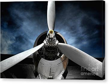 Motors Canvas Print - The Mission by Olivier Le Queinec