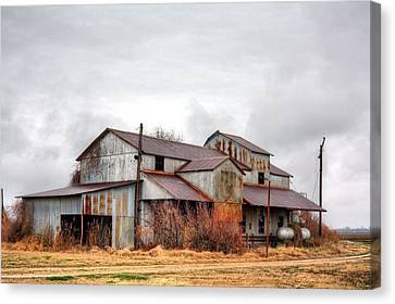 The Mississippi Delta Cotton Gin Canvas Print by JC Findley