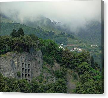 Canvas Print featuring the photograph The Mist Cometh by Natalie Ortiz