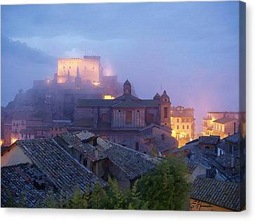 The Mists Of Soriano Canvas Print by Ellen Henneke
