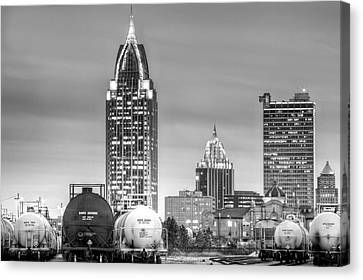 The Mobile Skyline Canvas Print