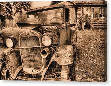 The Model A Canvas Print by JC Findley