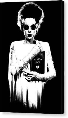 The Modern Bride B Canvas Print by Filippo B