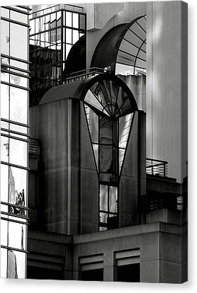 The Modern Highrise Canvas Print by Bill Gallagher
