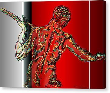 The Modern Man 2 Canvas Print by Mark Ashkenazi