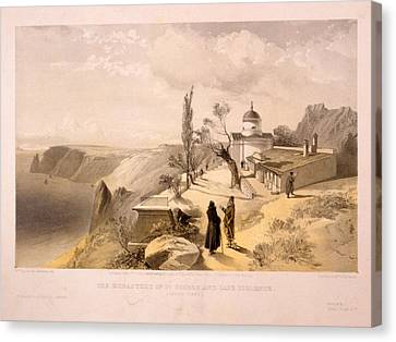 St George Canvas Print - The Monastery Of St. George And Cape Fiolente by Litz Collection