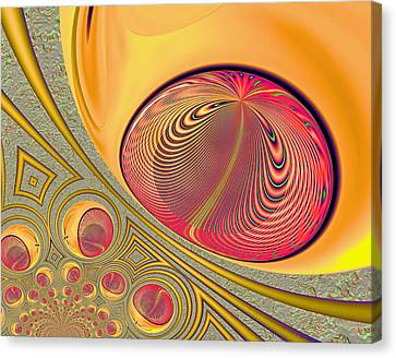 The Monitor Canvas Print by Wendy J St Christopher