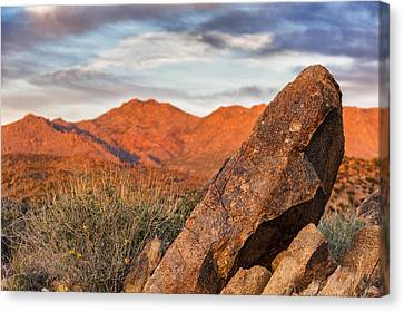 Canvas Print featuring the photograph The Monolith by Anthony Citro