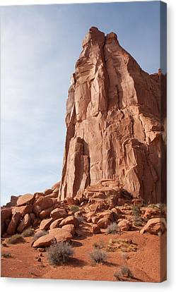 Canvas Print featuring the photograph The Monolith by John M Bailey