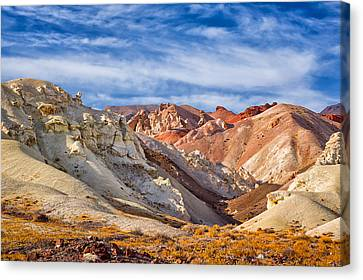 The Monte Cristos Central Nevada Canvas Print by Janis Knight