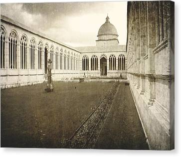 The Monumental Campo Santo  Canvas Print