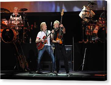 The Moody Blues Canvas Print