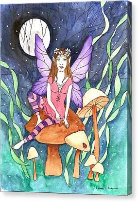 The Moon Fairy Canvas Print