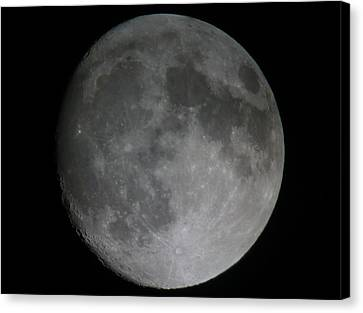 The Moon  Canvas Print by George Leask