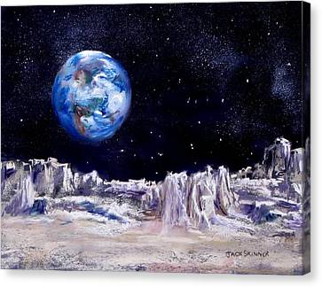 The Moon Rocks Canvas Print by Jack Skinner