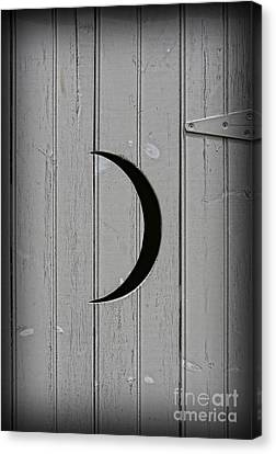 The Moonlight Outhouse Canvas Print