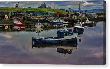 Paddys Hole Canvas Print - The Moorings by Trevor Kersley