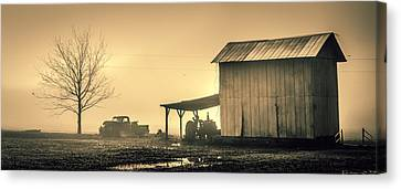 D700 Canvas Print - The Morning Fog by Chris Modlin