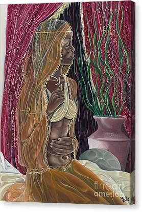 Contemplation Canvas Print by Rhonda Falls