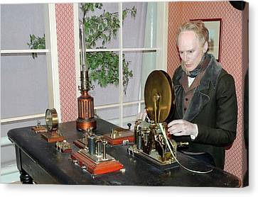 The Morse Telegraphic Apparatus Canvas Print