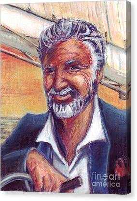 The Most Interesting Man In The World Canvas Print by Samantha Geernaert