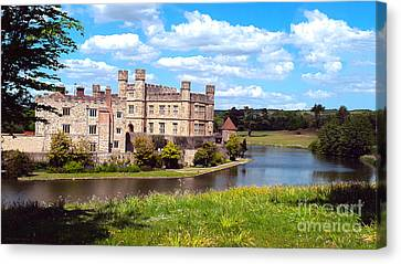 The Most Romantic Castle In England Canvas Print