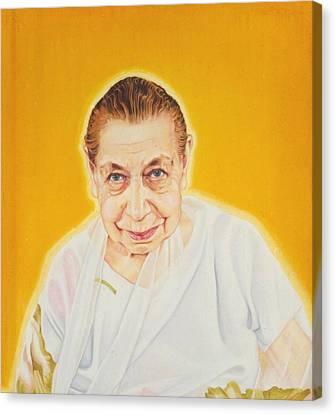 The Mother Canvas Print by Shiva Vangara