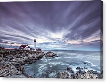 The Motion Of Light Canvas Print by Jon Glaser