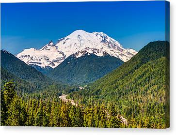 The Mountain And The Valley Canvas Print by Rich Leighton