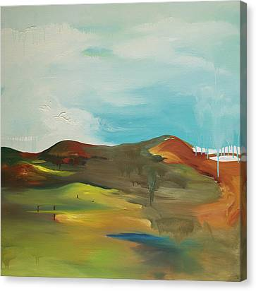 The Mountain Canvas Print by Joseph Demaree