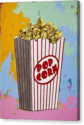 The Movies #2 Canvas Print by David Palmer