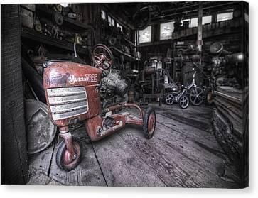 The Murray Trac Canvas Print by Sean Foster
