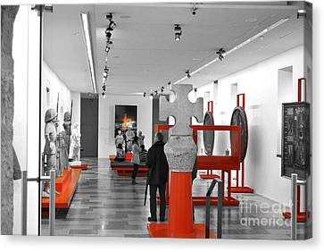 The Museum Canvas Print by Viesel