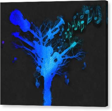 The Music Tree Canvas Print by Dan Sproul