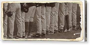 Fightin Phils Canvas Print - The National Anthem by Trish Tritz