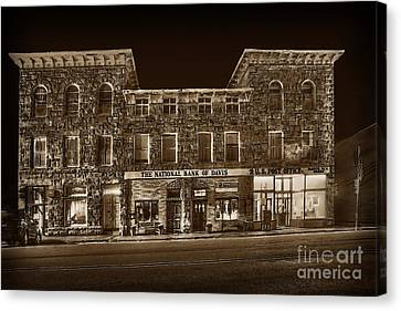 The National Bank Of Davis Wv Canvas Print by Dan Friend