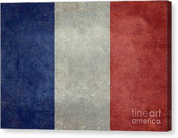 The National Flag Of France Canvas Print