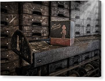 The National Screw Canvas Print by Susan Candelario