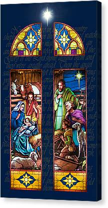 The Nativity Canvas Print by Jean Hildebrant