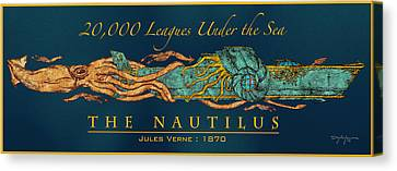 The Nautilus Canvas Print by William Depaula