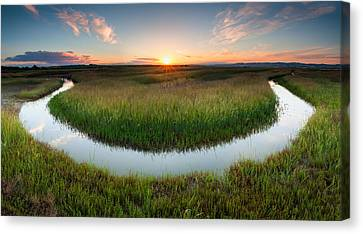 The Necklace Canvas Print by Evgeni Dinev