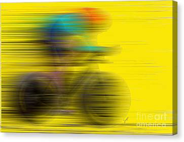 Ironman Canvas Print - The Need For Speed by Sergio B