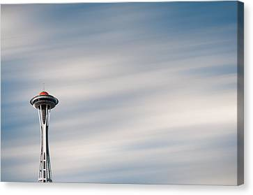 Canvas Print featuring the photograph The Needle by Brian Bonham